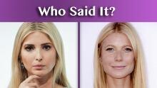 Gwyneth Paltrow Ivanka Trump