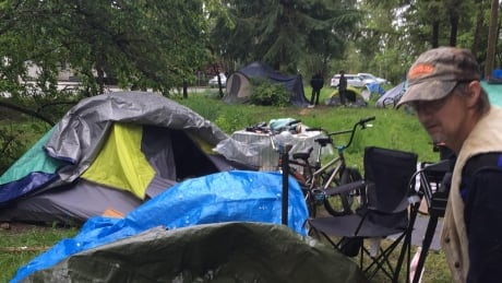 Maple Ridge camp semi-dismantled