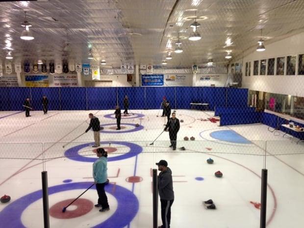 Souris curling 2