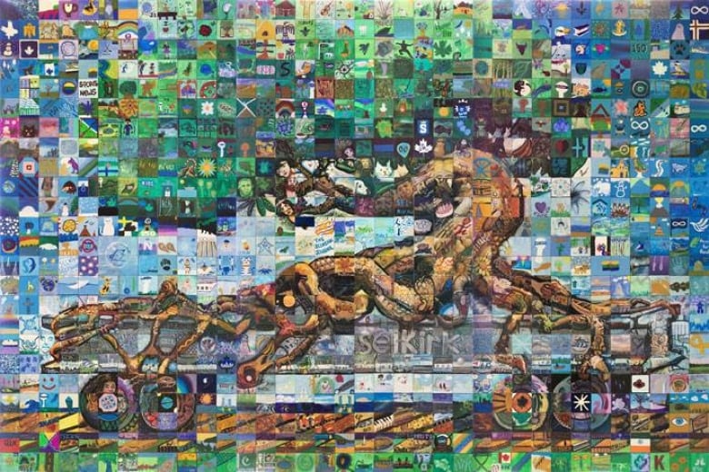 these artists are celebrating community one mosaic at a time cbc