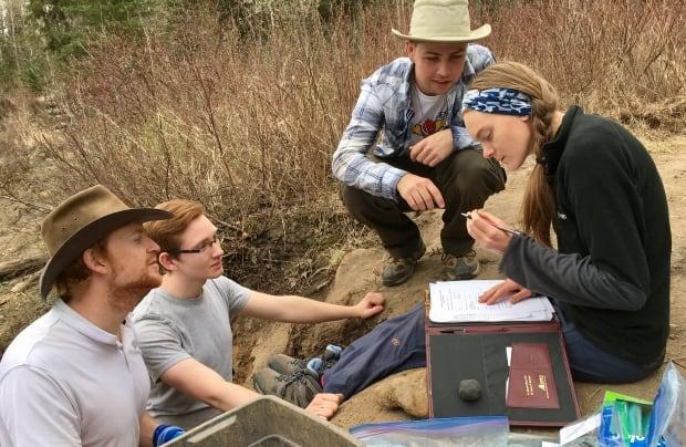 University of Alberta palaeontologist