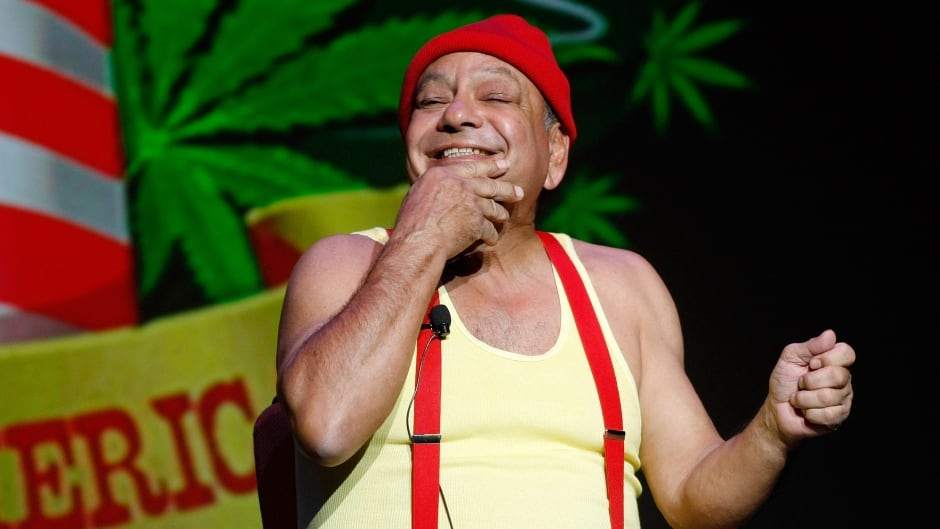 Cheech Marin, of the comedy duo Cheech & Chong, performing at The Pearl concert theater at the Palms Casino Resort October 18, 2008.