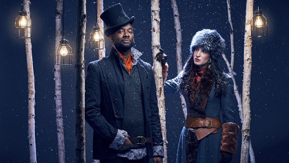 Daren A. Herbert and Hailey Gillis of the new musical, Onegin.