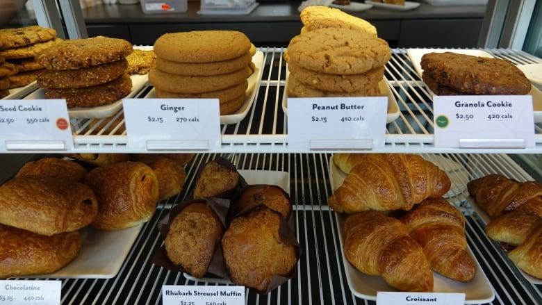 Baked good display Bridgehead