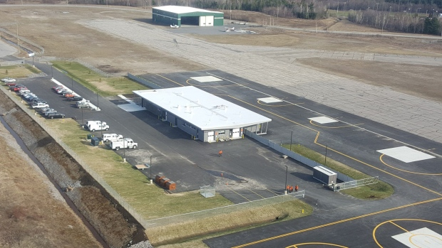The fire management headquarters at North Bay's Jack Garland Airport.