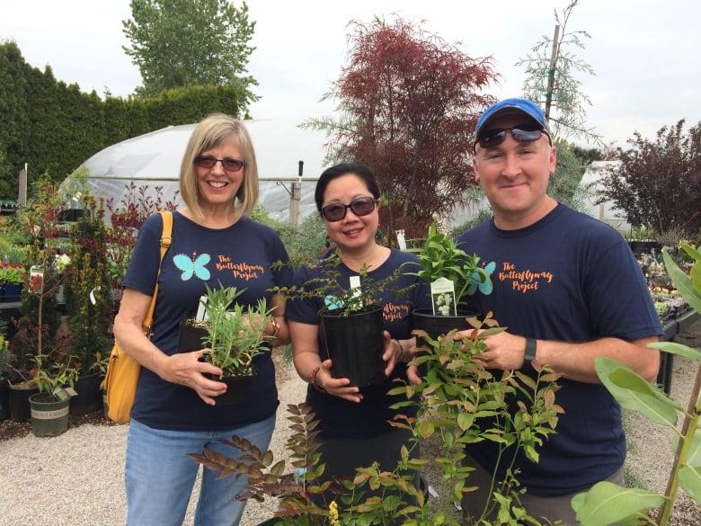 Richmond, B.C. gardeners build urban butterfly highway