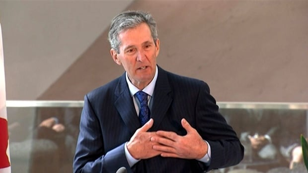 Premier Brian Pallister says he won't reveal how he communicates while abroad for security reasons.