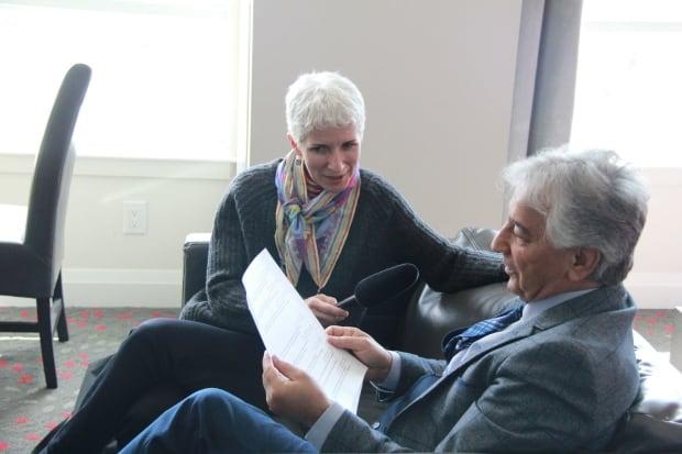 Nasser Kanani, speaking to Mary Wiens, CBC