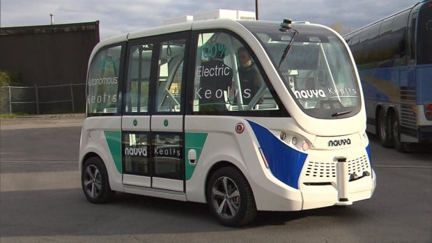 keolis driverless bus