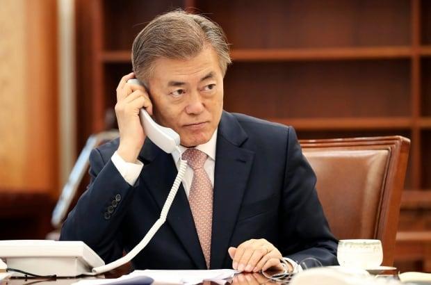South Korea Moon China