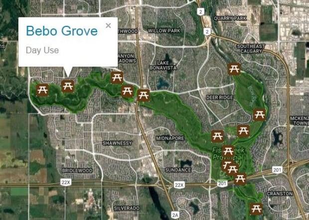 Fish Creek Bebo Grove cougar warning Calgary