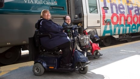 Martin Anderson Marie Murphy via accessibility mobility scooters