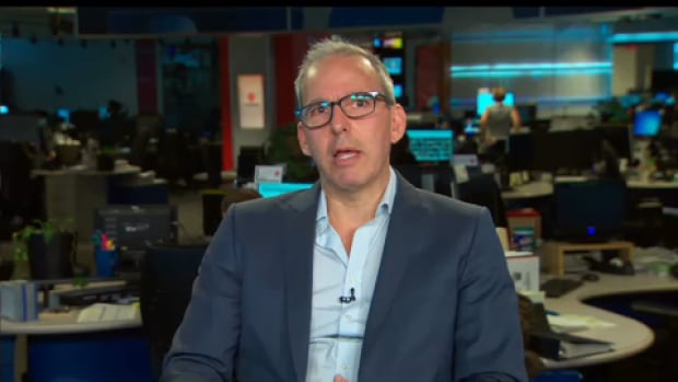 Jonathan Kay is stepping down as editor-in-chief of The Walrus. He's seen here expressing his views on the need for debate around cultural appropriation during a panel discussion on CBC News Network on Saturday.