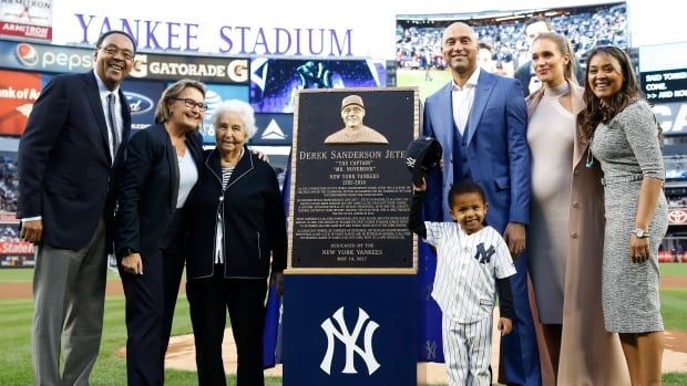 Yankees game rained out, setting up monster Derek Jeter day