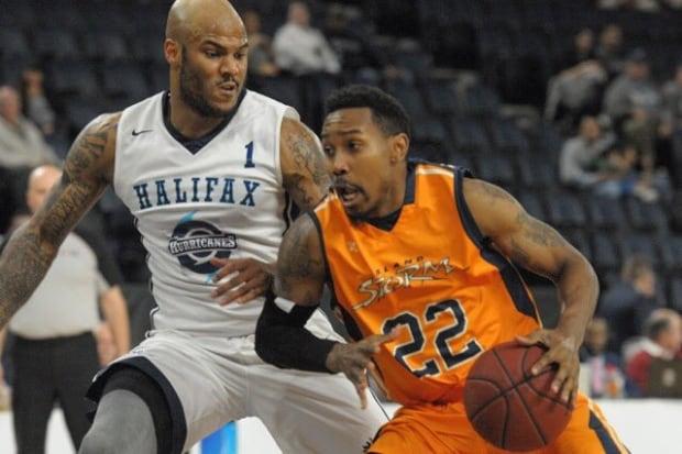 Island Storm v Halifax Hurricanes basketball