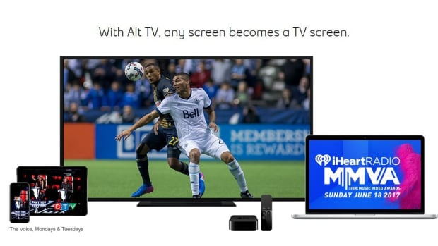 Bell's new Alt TV streaming service allows some Bell internet customers to watch live television on mobile devices without a traditional cable box, for an additional fee.