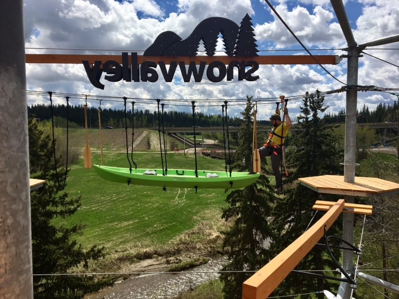 Aerial attraction will take Edmonton's river valley to new