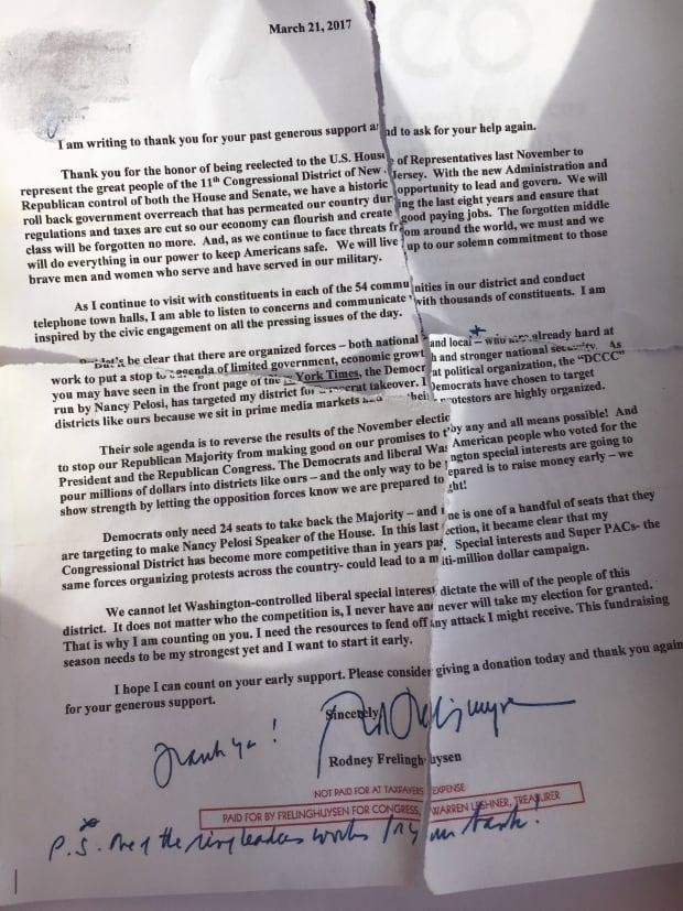 letter to Saily Avelenda