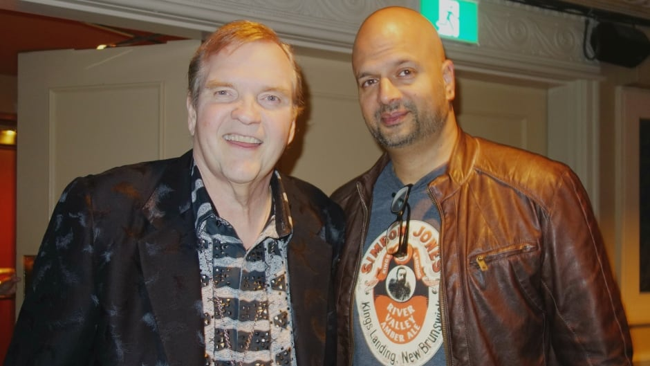 Meat Loaf and Ali Hassan at the Ed Mirvish Theatre in Toronto, Ont.