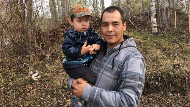 Gene Hope is the new chief of the Acho Dene Koe First Nation in Fort Liard, N.W.T., winning by 12 votes over his closest challenger, Frank Kotchea.