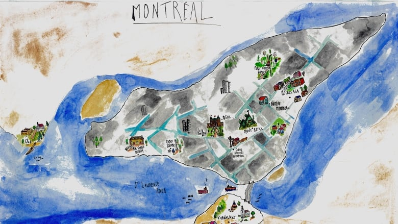Your Guide To Montreal S Hidden Indigenous Character Cbc News