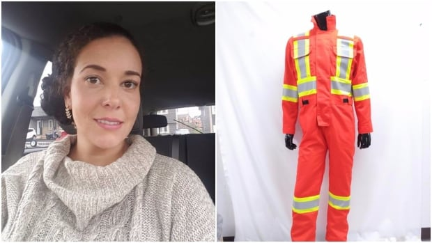 Tenai Norman is the designer behind Gear Up Safety Solutions, a company that has protective clothing exclusively for women.