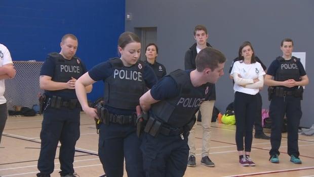 Royal Newfoundland Constabulary cadets