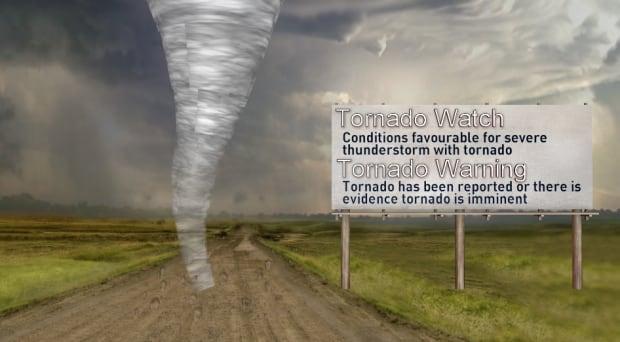 Tornado watches vs warnings