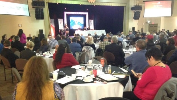 People from Indigenous communities across North America are attending the third annual National Indigenous Fisheries and Aquaculture Forum in Membertou.