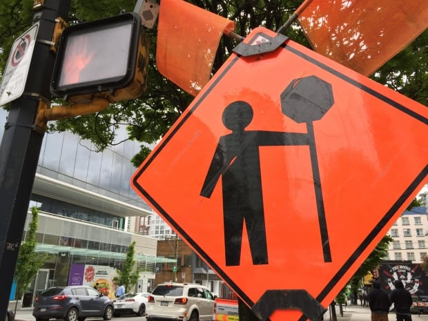 Road signs for distracted driving story