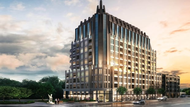 A 12-storey condo tower is being planned for the corner of Wellington Street West and Island Park Drive, despite height restrictions in the local community design plan. The Ontario Municipal Board gave the developer the go-ahead with the condition that the condo tower include an 'element of wow.'