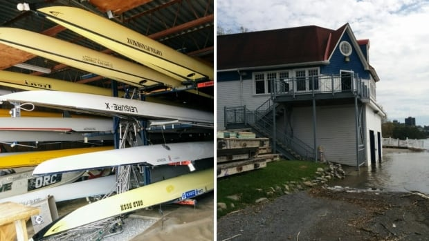 Volunteers with the Ottawa Rowing Club are spending most of the week cleaning up damage and debris left by flood waters.