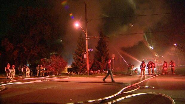 Marmion Avenue Fire
