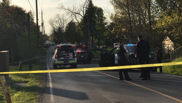 A ten-year-old girl died after running into the path of a vehicle in Waterdown Tuesday evening, police say.