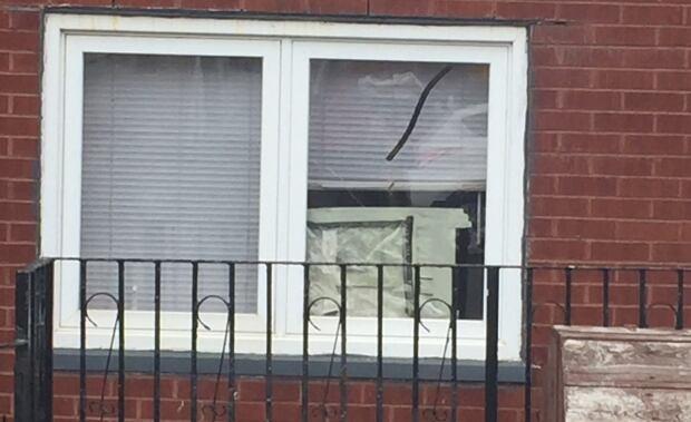 Watson Street gunshots window damages
