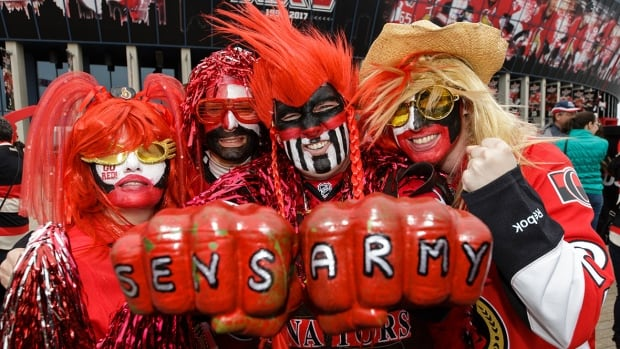 Though they fall short of Leafs and Habs supporters in numbers, Senators fans have shown during this year's playoff run that they can be just as passionate.