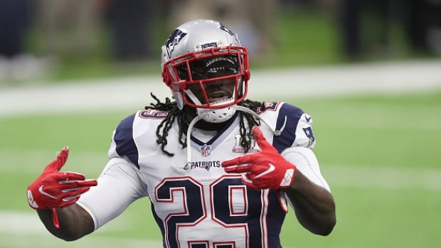 Legarrette Blount, who has signed on with the Eagles for one year, joins wide receivers Alshon Jeffery and Torrey Smith as key offensive additions for Philadelphia this off-season.