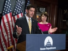 'We have an obligation to carry out our oversight no matter what party is in the White House,' U.S. House Speaker Paul Ryan said at a news conference, May 17.