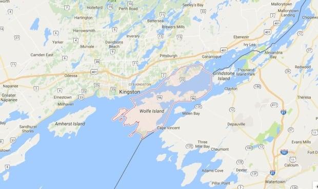frontenac islands map