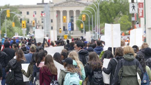 Anti-Islamophobia march in Winnipeg