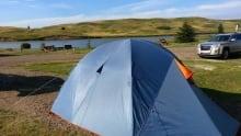 Camping near Calgary