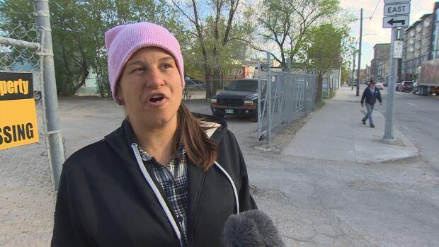Ashley Grant homeless Winnipeg