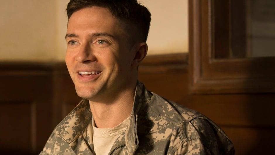 Topher Grace stars in the Netflix film War Machine.