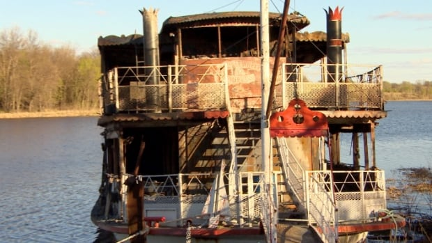 The Paddlewheel Princess is being chopped and sold for scrap after it was blackened by fire on May 9.