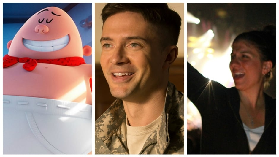 Captain Underpants creator Dav Pilkey, War Machine's Topher Grace and ASL interpreter Holly Maniatty are guests on the Thursday, May 18, 2017 edition of q