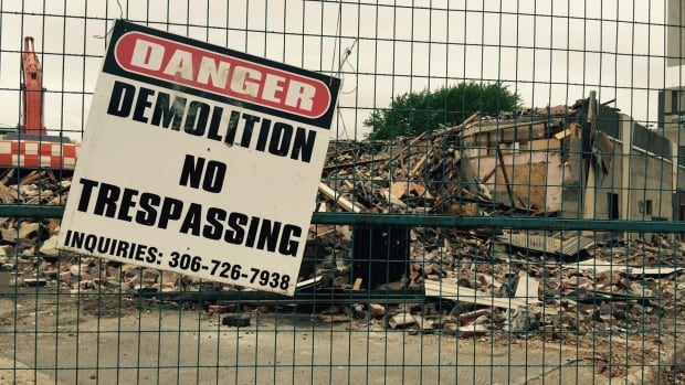 The Travellers Building was demolished on May 17, 2017.