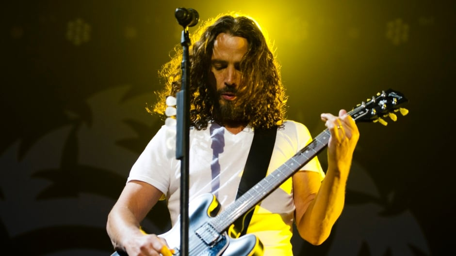 Chris Cornell of Soundgarden performs during their concert in Toronto July 2, 2011.