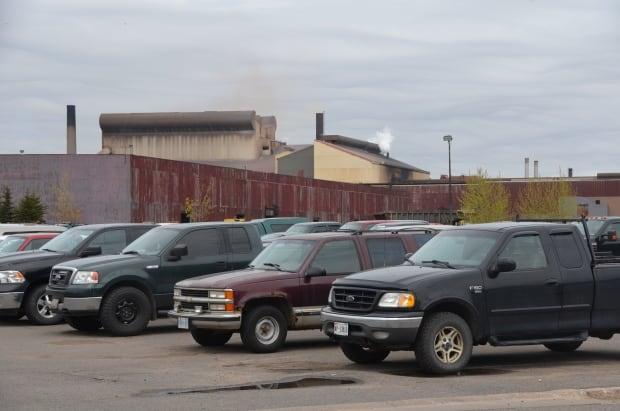 Essar Steel parking lot