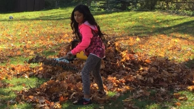 Jasmin Hanif, 10, was struck and killed by a vehicle in Waterdown on Tuesday evening.