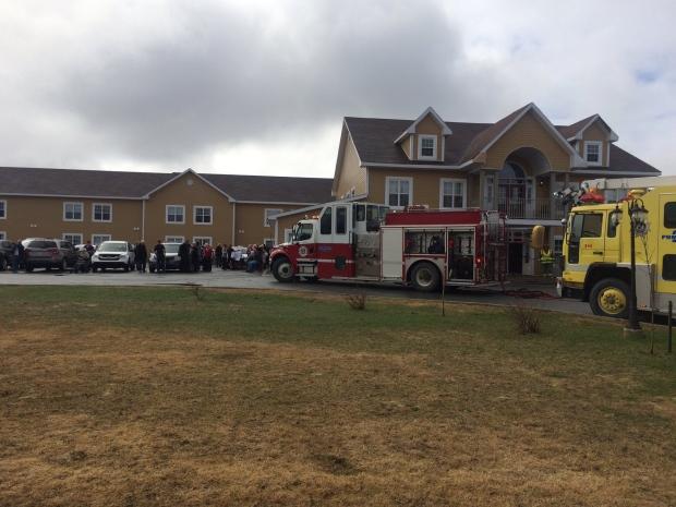 Seniors home evacuated Gander